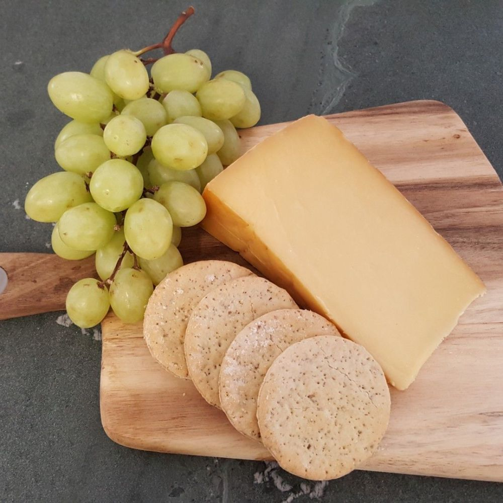 Oak Smoked Raw Cheese
